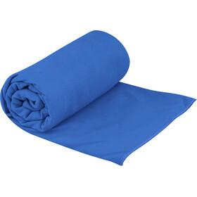 Sea to Summit Drylite Handdoek Antibacterieel L, blauw